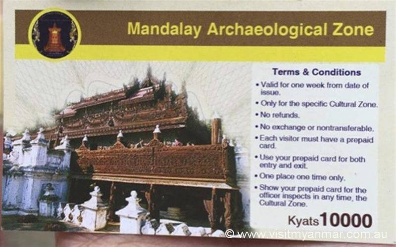 Archaelogical-Zone-Ticket-Mandalay-Visit-Myanmar