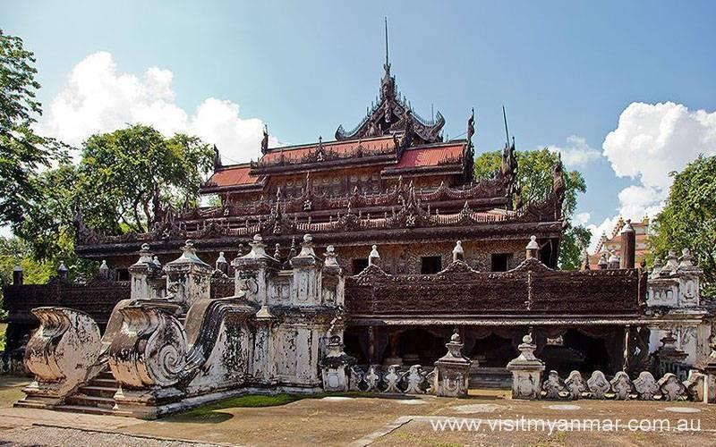 Shwenandaw-Monastery-Mandalay-Visit-Myanmar