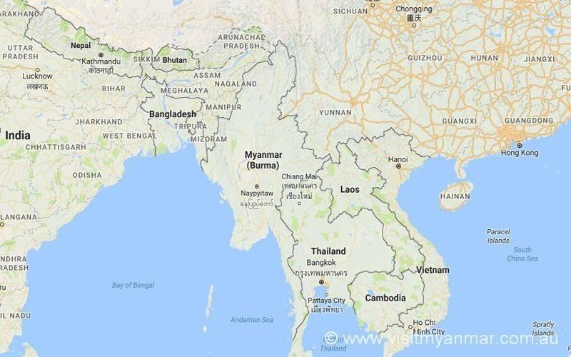Visit-Myanmar-Burma-Map